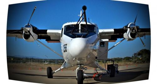 2011: The Cirpas research aircraft, California, USA